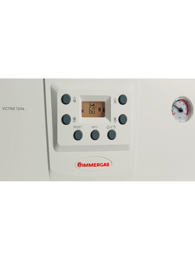 Immergas Victrix Tera 28 Erp, 28kW fali kondenzációs kombi gázkazán