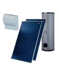 Wolf napkollektor rendszer 2db napkollektorral használati melegvíz termelésre