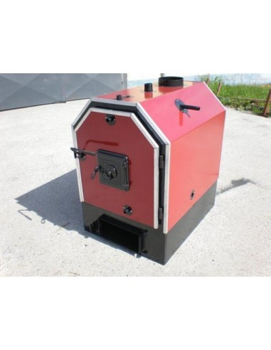 Calor V65 rönkégető és bálaégető kazán