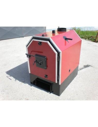 Calor V80 rönkégető és bálaégető kazán