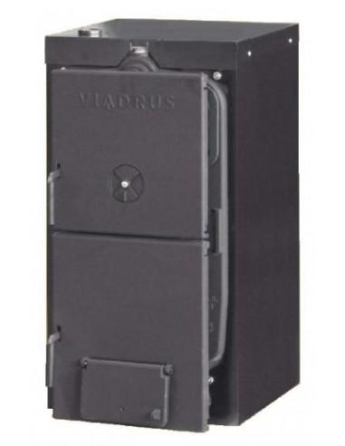 Viadrus U22 Basic 8, 40 kW 8 tagos öntvény vegyestüzelésű kazán