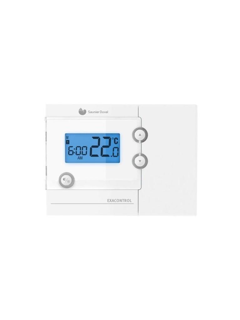Saunier Duval Exacontrol 7 heti programozású termosztát