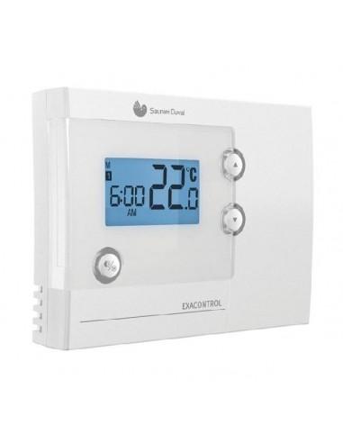 Saunier Duval Exacontrol 7R heti programozású rádió termosztát