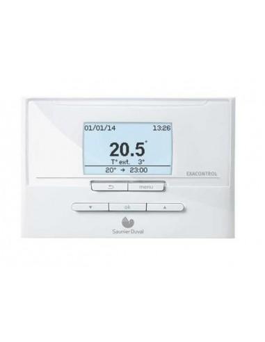 Saunier Duval Exacontrol E7C heti programozású termosztát