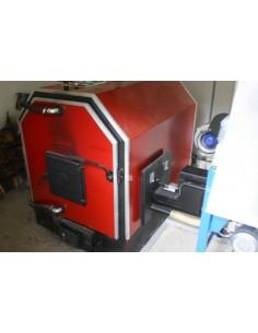 Calor V50 vegyestüzelésű kazán aprítékadagoló előkészítéssel
