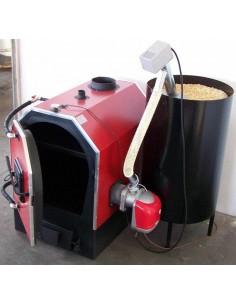 Calor V40 vegyestüzelésű kazán pelletégetővel