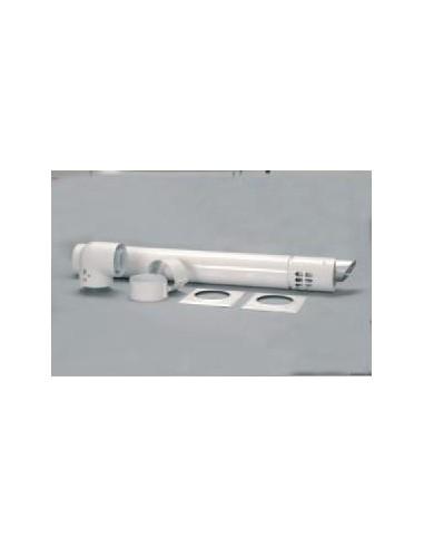 Saunier Duval kivezető alapkészlet, L - 900 mm, 80/125 mm