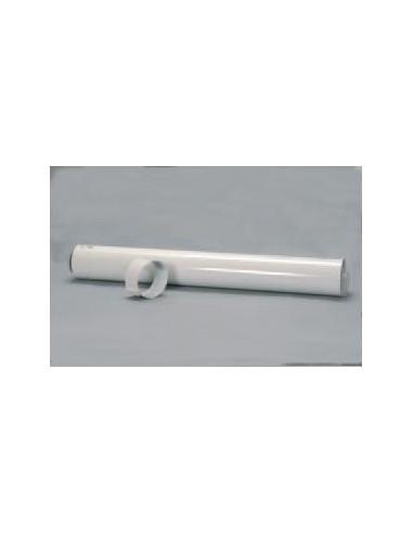 Saunier Duval függőleges, egyenes hosszabbítócső L-500mm, 80/125 mm