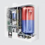 Wolf CGW-2-24/140 fali kondenzációs beépített tárolós gázkazán + AM modul