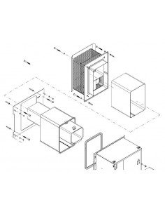 FÉG fali tartozék szett MZV18S és ZC18HS készülékhez