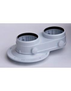 Saunier Duval osztott indítóidom KKS Condens készülékekhez 80/80 mm