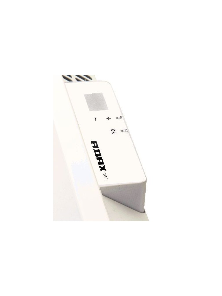 Adax Neo WiFi L elektromos konvektor 1400W, fehér, alacsony kivitel