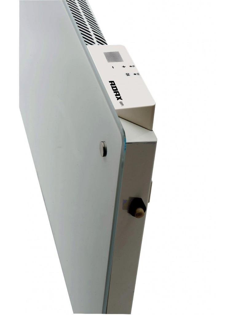 Adax Clea WiFi L elektromos konvektor 800W, fehér, alacsony kivitel