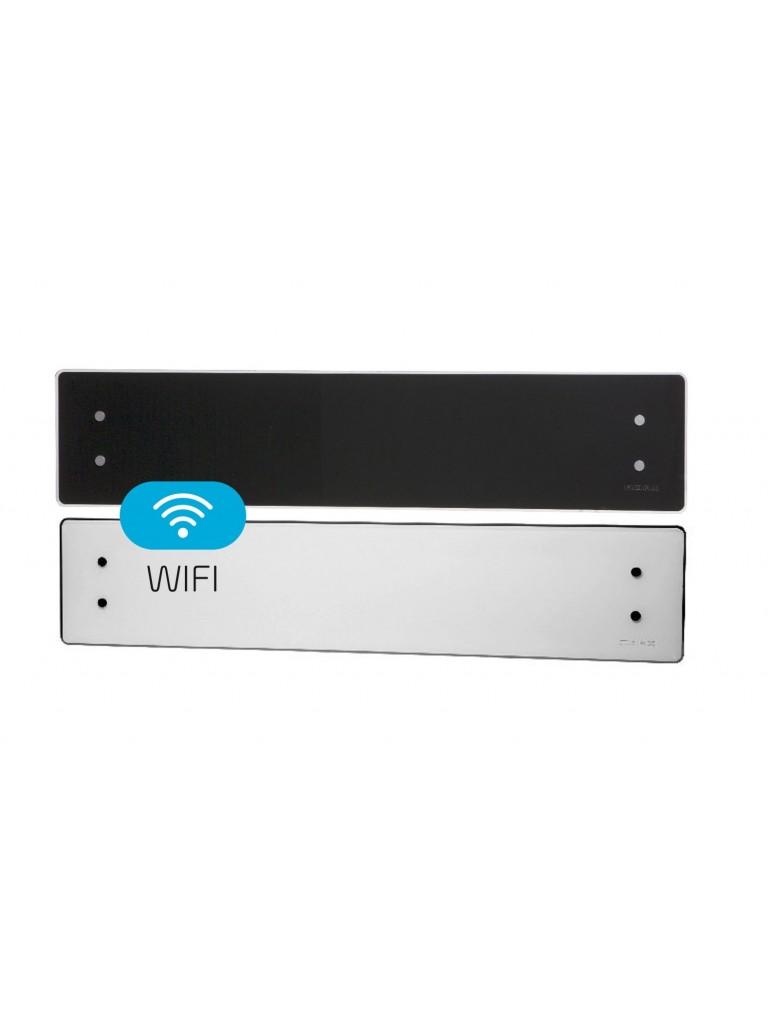 Adax Clea WiFi L elektromos konvektor 800W, fekete, alacsony kivitel
