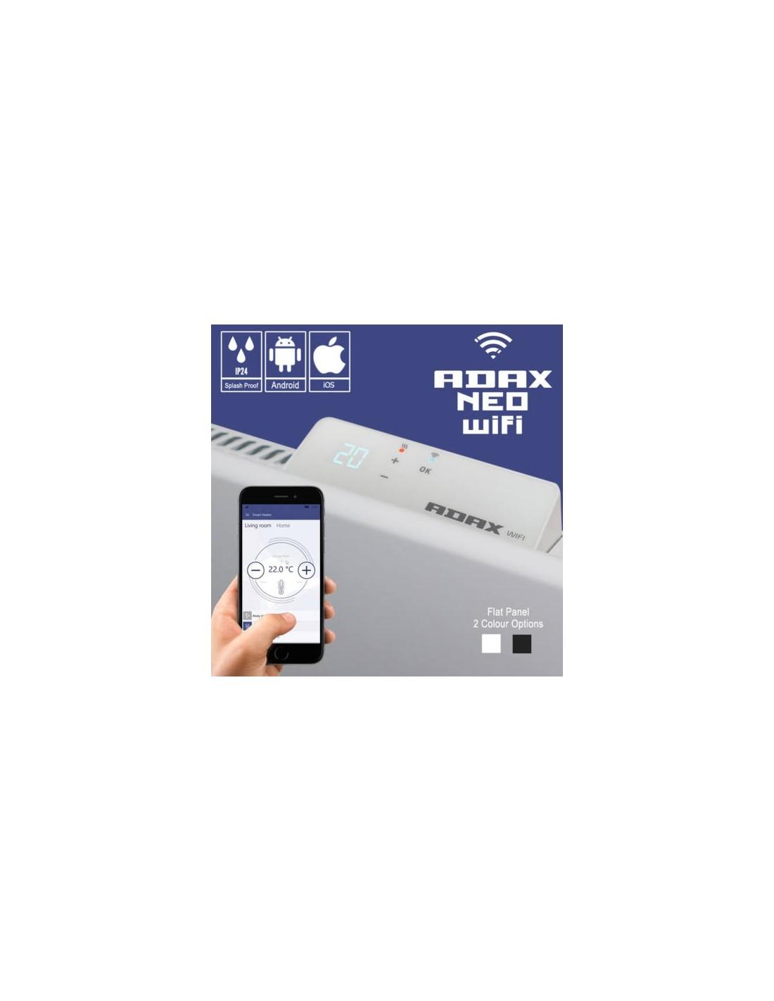 Adax Neo WiFi H elektromos konvektor 1400W, fehér