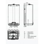 Beretta Exclusive GREEN 25 C.S.I. fali kondenzációs kombi gázkazán