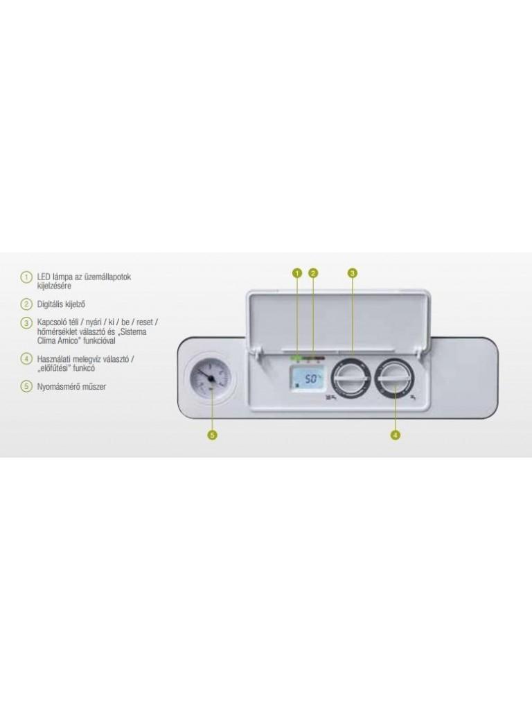Beretta MYNUTE GREEN 25 R.S.I. E fali kondenzációs fűtő gázkazán