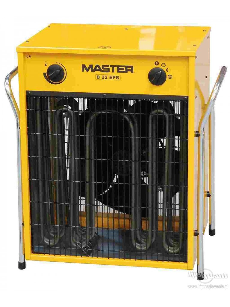 Master B22EPB 22kW-os ventilátoros gyorsfűtő