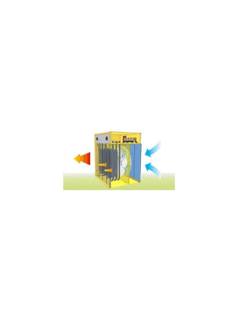 Master B3,3EPB 3,3kW-os ventilátoros gyorsfűtő