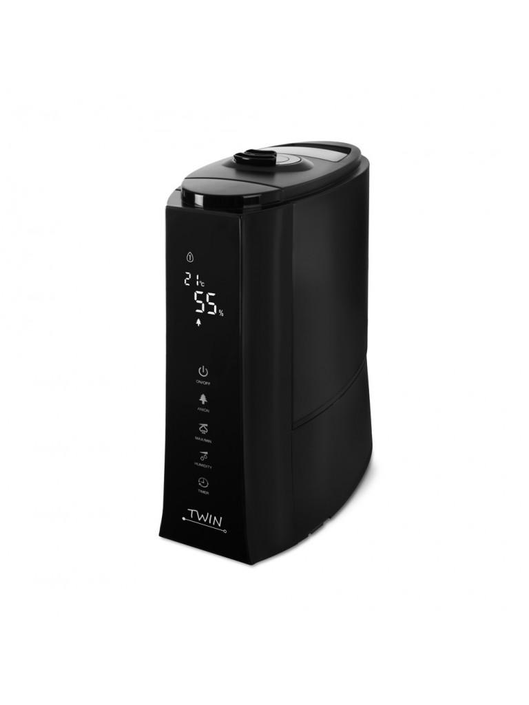Airbi Twin digitális ultrahangos párásító, fekete