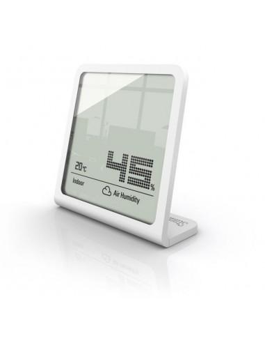 Stadler Form Selina páratartalom és hőmérő, órával, fehér