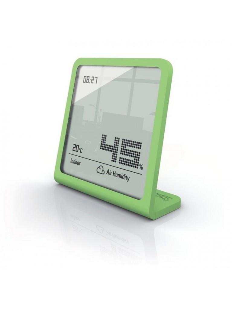 Stadler Form Selina páratartalom és hőmérő, órával, lime