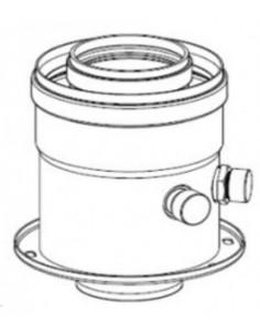 Radiant induló idom O60/100mm PPS/ALU mérőponttal