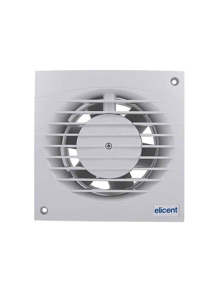 Elicent MINISTYLE fali axiál ventilátor + pillangó szelep, időzítő
