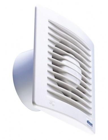 Elicent TEKNOSTYLE 100HT Vékony kivitelű axiális ventilátor + időzítő, páraszab.