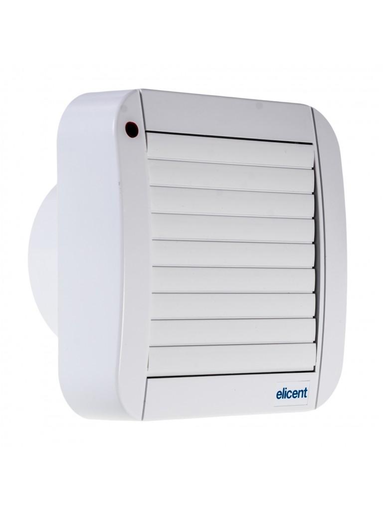 Elicent TEKNOWALL 100AHT fali axiál ventilátor + időzítő, páraszab.