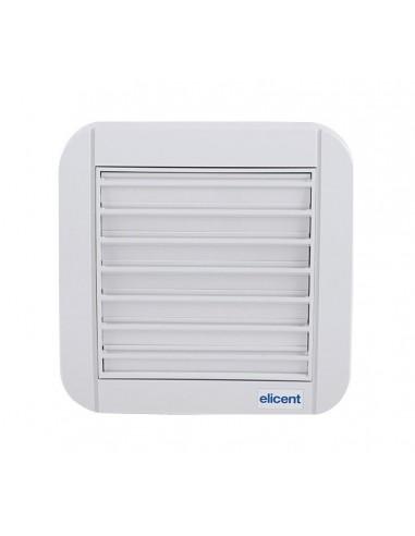 Elicent TEKNOWALL GG 100HT fali axiál ventilátor + időzítő, páraszab.