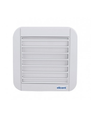 Elicent TEKNOWALL GG 120HT fali axiál ventilátor + időzítő, páraszab.