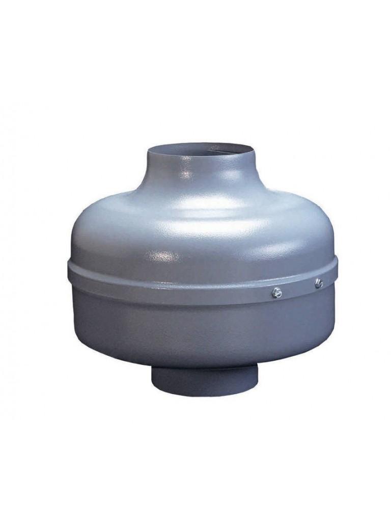 Elicent AXC 100A radiális csőventilátor 195m3/h, max: 350 Pa, IPX4, 70W