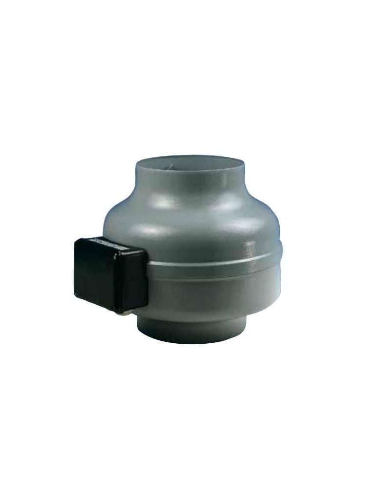Elicent AXC 125B radiális csőventilátor 325m3/h, max: 340 Pa, IPX4, 70W