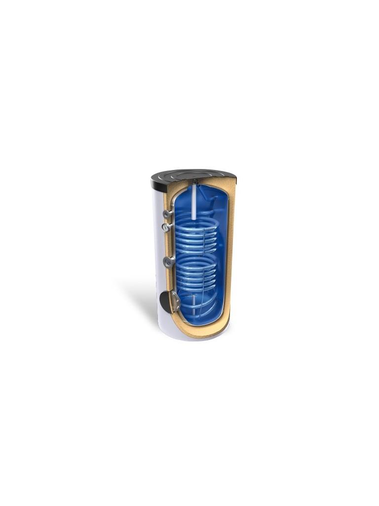 Bosch AS 400 DUO zománcozott szolár tároló 2 hőcserélővel