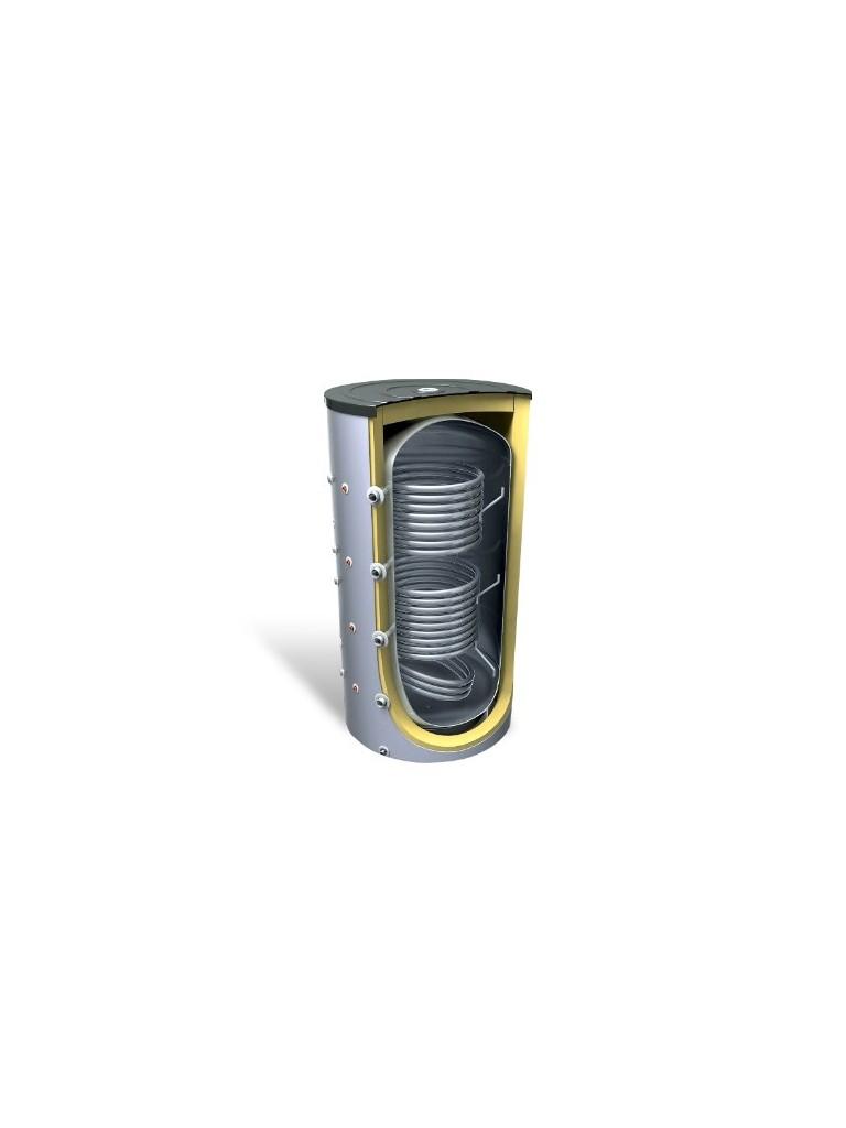 Bosch AT 2000 DUO fűtési puffertároló 2 hőcserélővel