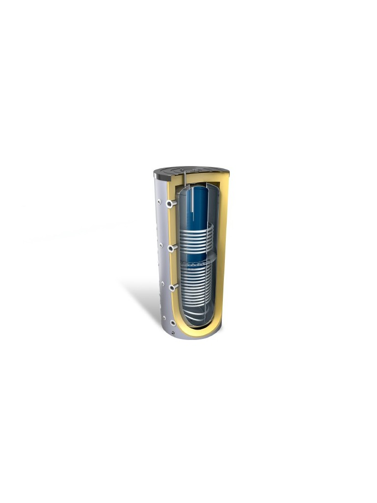 Bosch ATTD 1000/200 DUO kombi puffertároló 2 hőcserélővel