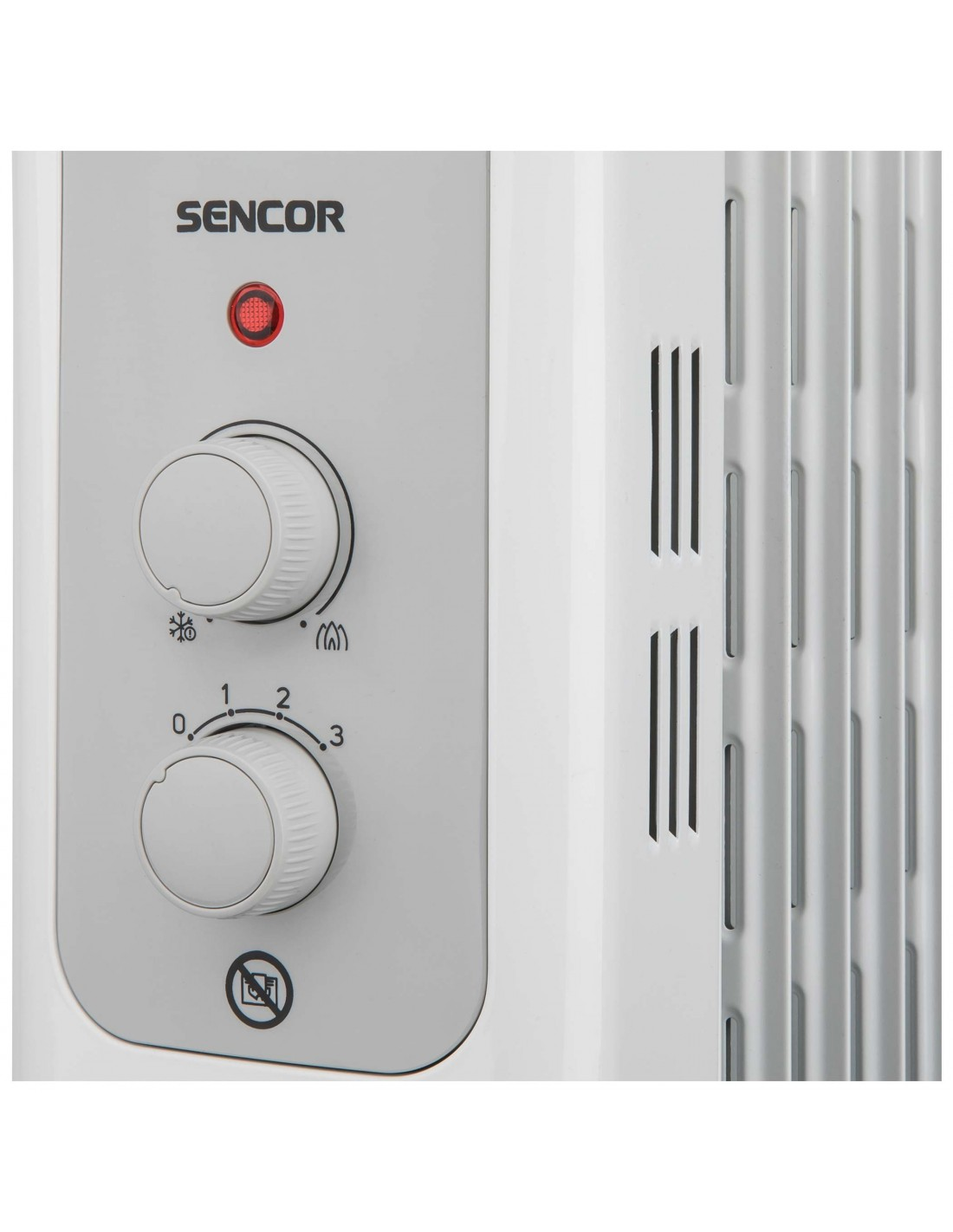 SENCOR SOH 3213WH olajradiátor fehér