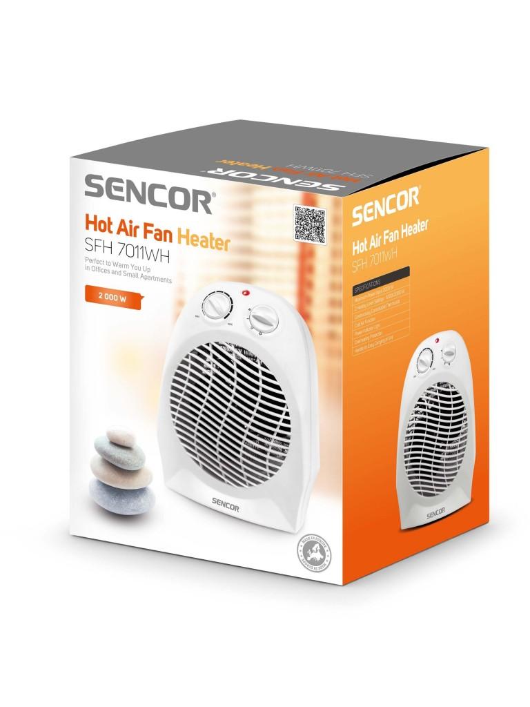 SENCOR SFH 7011 WH ventilátoros gyorsfűtő