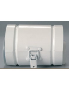 Saunier Duval Alu/Alu ellenőrző egyenes idom 100/60 mm