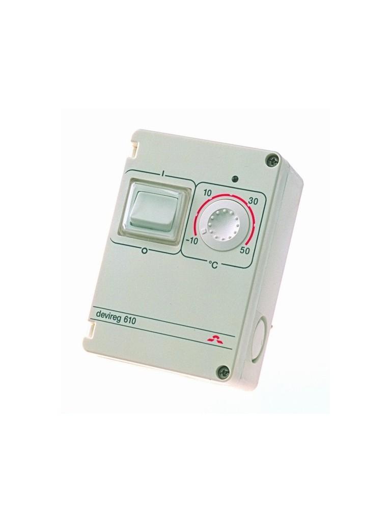 DEVIreg 610 univerzális termosztát kültéri fűtésekhez