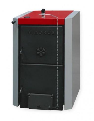 Viadrus U22D 9, 45 kW 9 tagos öntvény vegyestüzelésű kazán