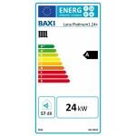 Baxi Luna Platinum 1.24+ ERP fali kondenzációs fűtő gázkazán