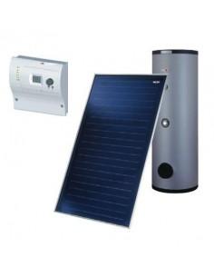 Wolf napkollektor rendszer 2db kollektorral HMV termelésre meglévő rendszerhez